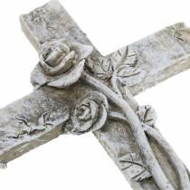 Decorazioni gravi Croce 7,5 cm x 11 cm 4 pezzi