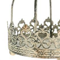 Corona per appendere antico crema Ø10,5cm