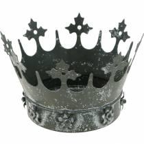 Decorazione da tavola, corona decorativa, vento in metallo floreale, fioriera, decorazione in metallo