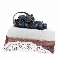 Torta di mirtilli artificiali da 10 cm