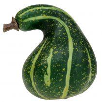 Zucca artificiale verde scuro 11 cm 6 pezzi