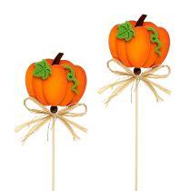 Spina di zucca arancione 32 cm 12 pezzi