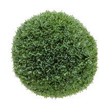 Palla di bosso verde artificiale Ø28cm