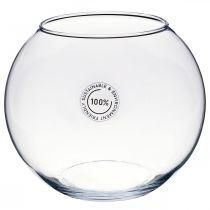 Vaso a sfera, acquario, lanterna in vetro, vetro decorativo Ø18,5cm H16cm