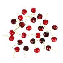Mix di ciliegie dolci di frutta artificiale Ø2,5cm 24 pezzi