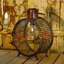 Lampada solare in metallo lampada balcone deco design industriale Ø23cm