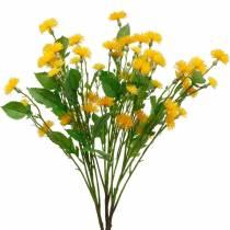 Tarassaco selvatico fiori di seta artificiale Fiori di prato artificiali 3 pezzi