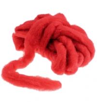 Tappeto di lana rosso 10m