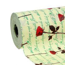 Polsino di carta 25 cm 100 m Creme Rose