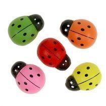 Coccinelle colorate 2,5 cm 60p