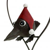 Appendiabiti Bird in the Heart Deco Metal Grigio 48cm
