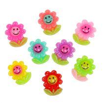 Mini fiori per incollare 2 cm 24 pezzi