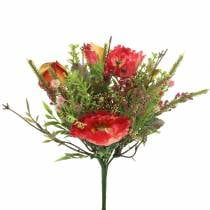 Bouquet di papaveri autunnali 25 cm