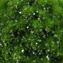 Palla Moss con mica Ø9cm spazzola verde