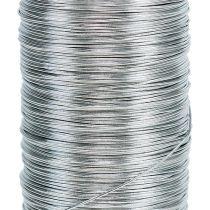 Filo di mirto galvanizzato argento 0,37mm 100g