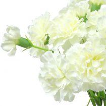 Garofano bianco 64 cm 4 pezzi