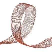 Nastro di rete in filo di rame rinforzato 40mm 15m