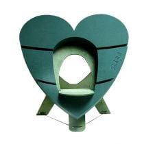 OASIS® Bioline® Deco urna cuore 65cm con supporto