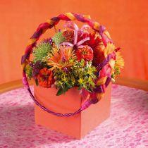 Disposizione dei tavoli in mattoni floreali in schiuma 11 cm x 11 cm x 8,5 cm 4 pezzi