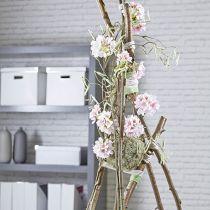 Sfera di schiuma floreale pasta secca grigia Ø16cm 2 pezzi