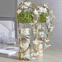 Cilindro in schiuma floreale pasta secca grigio H5cm Ø8cm 20 pezzi
