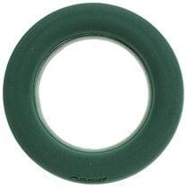 Anello in schiuma floreale con tappo a corona verde dimensioni Ø42cm 2 pezzi