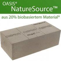 OASIS® NatureSource Schiuma floreale in mattoni 23 cm × 11 cm × 7 cm 10 pezzi