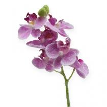 Orchidea con glitter, rosa 35cm