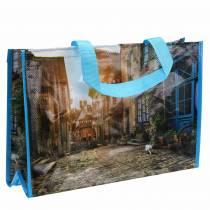 Borsa shopping con manici Shopper in plastica Bretagna 45 × 14 × 30 cm
