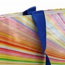 Borsa shopping con manici in plastica Mikado 37 × 10 × 40 cm
