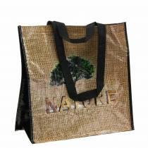 Borsa shopping con manici plastica Natura 40 × 20 × 40 cm