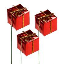 Pacchetto sul filo 2,5 cm rosso 60 pezzi