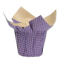 Vaso da fiori in carta vaso da fiori decorativo colorato in carta 8 pezzi