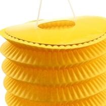 Lanterna treno gialla Ø10cm H13cm 8 pezzi