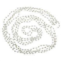 Ghirlanda di perle per albero di Natale Verde chiaro 7m