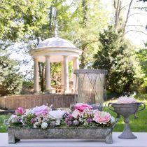 Fioriera, grondaia decorativa, fioriera anticata L51cm