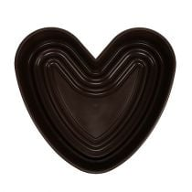 """Pianta cuore """"Amora"""" marrone 35 x 35 cm, 1p"""