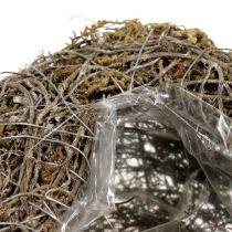 Cuore vegetale fatto di viti e licheni Natura 25 cm x 19 cm