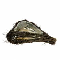 Rami di cuore vegetale natura 40 cm x 30 cm