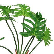 Pianta di filodendro verde artificiale 58 cm