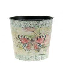 Vaso decorativo vintage farfalla Ø10,5cm