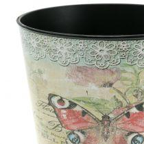Vaso decorativo vintage farfalla Ø17cm