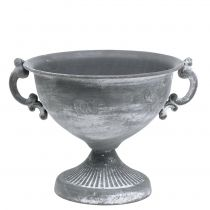 Coppa grigio Ø20cm H17.5cm