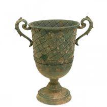 Piantare tazza, calice decorativo, anfora per piantare Ø18,5 cm H31,5 cm