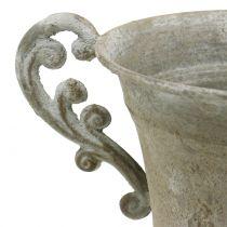 Tazza antica grigia Ø14,5 cm H21 cm