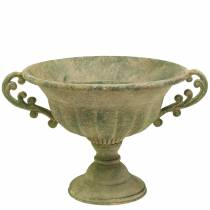 Ciotola tazza verde antico Ø26cm H20,5cm
