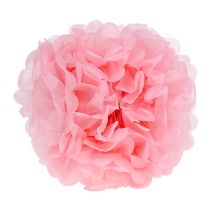 Pompon di carta Rosa chiaro Ø30cm 5pezzi