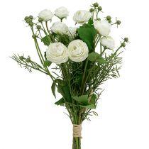 Ranunculus Bouquet Bianco 42cm