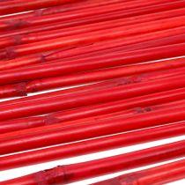 Manici in rattan rosso 100 cm 20 p.