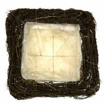 Rami di cuscino vegetale natura 40 cm x 40 cm H10 cm